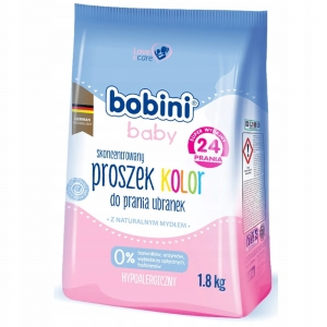 Bobini Proszek do prania kolor 1,8kg
